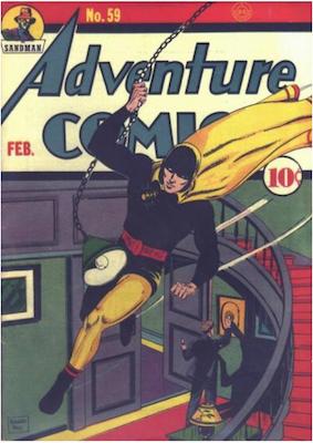 Adventure Comics #59. Click for values.