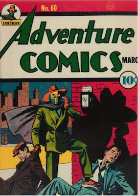 Adventure Comics #60. Click for values.