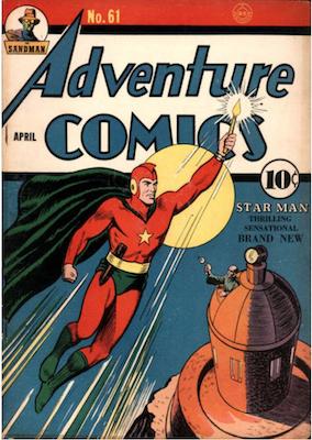 Adventure Comics #61. Click for values.