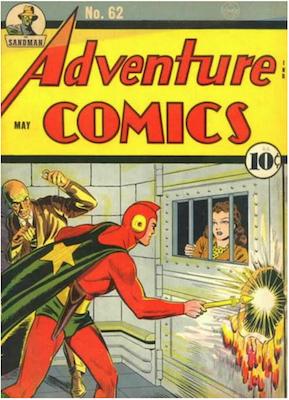 Adventure Comics #62. Click for values.