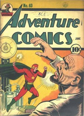 Adventure Comics #63. Click for values.