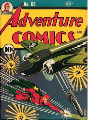 Adventure Comics #65. Click for values.