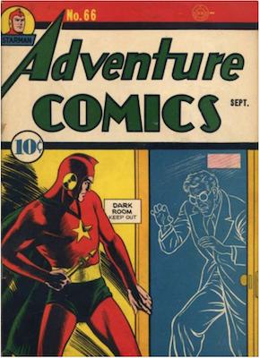 Adventure Comics #66. Click for values.