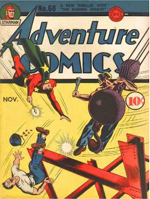 Adventure Comics #68. Click for values.