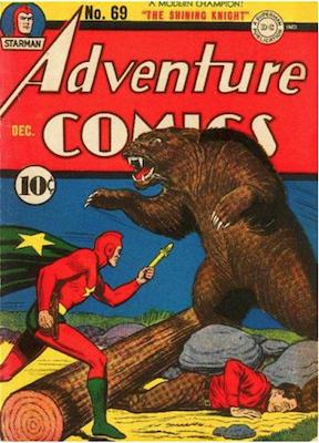 Adventure Comics #69. Click for values.