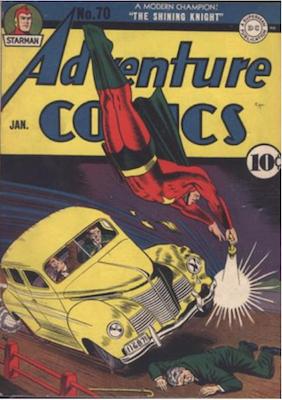Adventure Comics #70. Click for values.