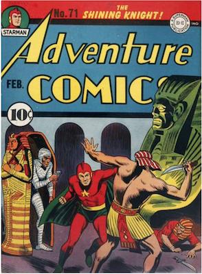 Adventure Comics #71. Click for values.