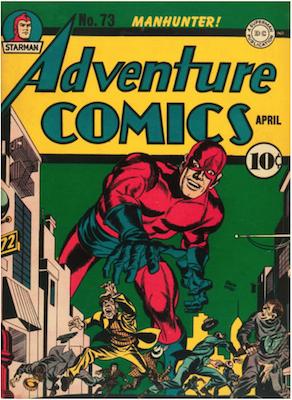Adventure Comics #73. Click for values.