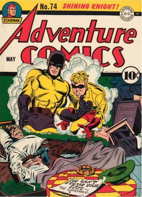 Adventure Comics #74. Click for values.