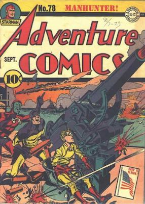 Adventure Comics #78. Click for values.