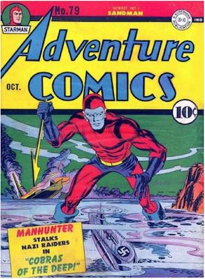 Adventure Comics #79. Click for values.