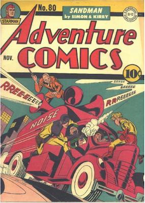 Adventure Comics #80. Click for values.