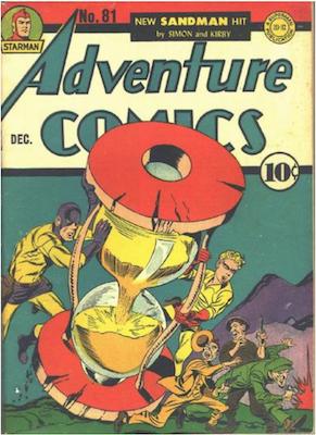 Adventure Comics #81. Click for values.