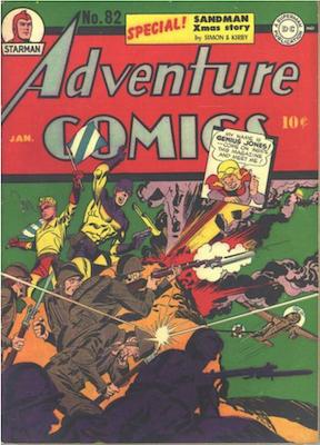 Adventure Comics #82. Click for values.