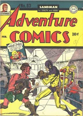 Adventure Comics #83. Click for values.