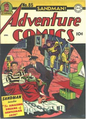 Adventure Comics #85. Click for values.