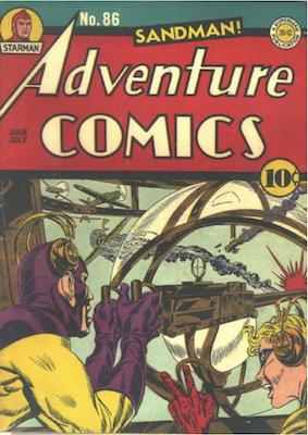 Adventure Comics #86. Click for values