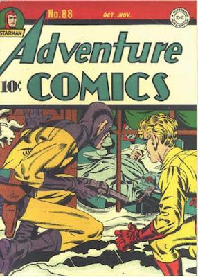 Adventure Comics #88. Click for values.