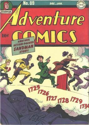 Adventure Comics #89. Click for values.