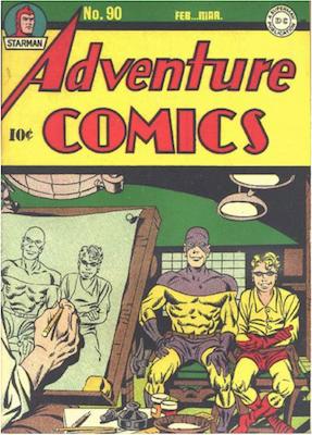 Adventure Comics #90. Click for values.