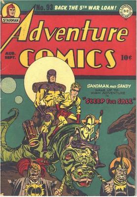 Adventure Comics #93. Click for values.