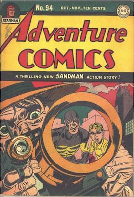 Adventure Comics #94. Click for values.