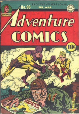Adventure Comics #96. Click for values.