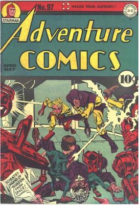 Adventure Comics #97. Click for values.