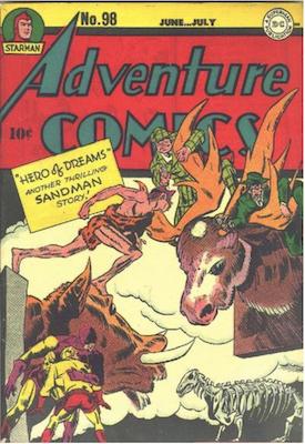 Adventure Comics #98. Click for values.