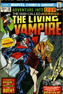 Morbius the Living Vampire: Adventure into Fear #20. Click to buy a copy