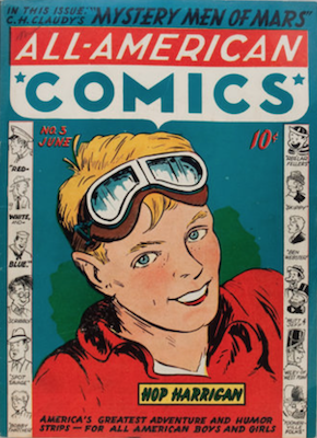 All-American Comics #3. Click for current values.