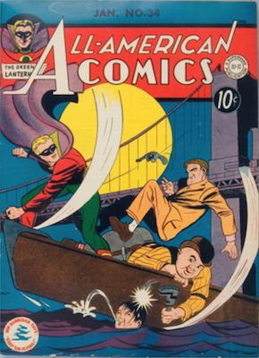 All-American Comics #34. Click for current values.