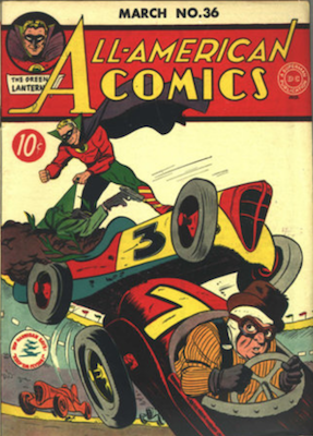 All-American Comics #36. Click for current values.