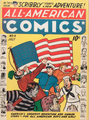 All-American Comics #4. Click for current values.