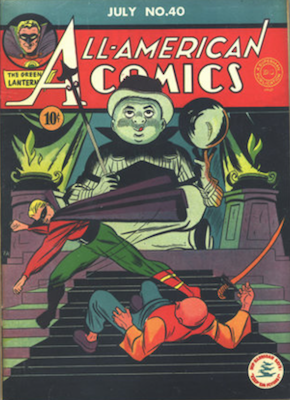 All-American Comics #40. Click for current values.