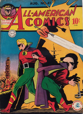 All-American Comics #41. Click for current values.