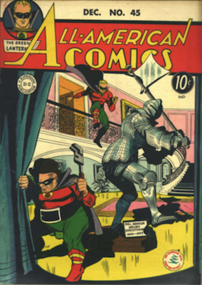 All-American Comics #45. Click for current values.