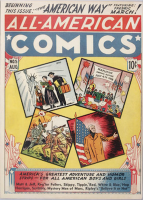 All-American Comics #5. Click for current values.