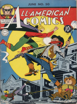 All-American Comics #50. Click for current values.