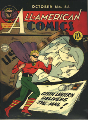 All-American Comics #53. Click for current values.