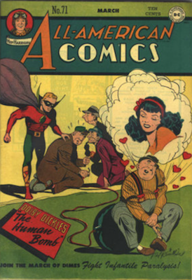 All-American Comics #71. Click for current values.