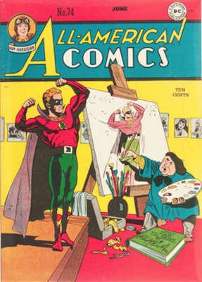 All-American Comics #74. Click for current values.