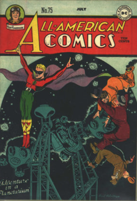 All-American Comics #75. Click for current values.