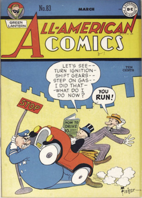 All-American Comics #83. Click for current values.