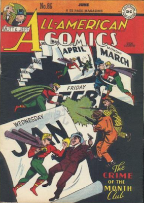 All-American Comics #86. Click for current values.