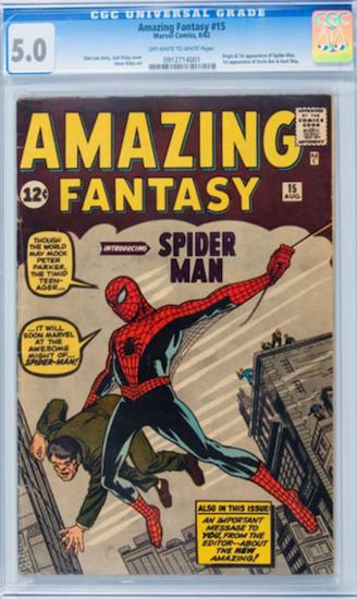 Amazing Fantasy #15 CGC 5.0