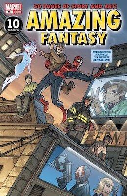 Amazing Fantasy v2 #15, 1st Amadeus Cho. Click for values