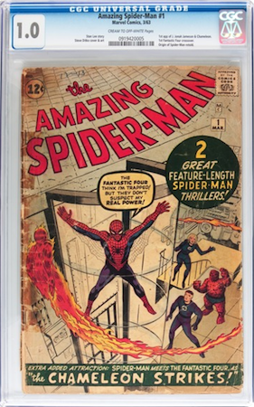 It's an Amazing Spider-Man#1 in CGC 1.0... But you could do better. Maybe: