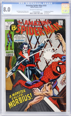 Invest in a crisp copy of Amazing Spider-Man #101 in CGC 8.0. Click to buy one
