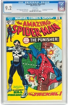 You can STILL own a really great copy of Amazing Spider-Man#129... AND...